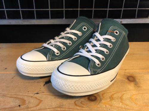 converse ALL STAR 100 COLORS OX (ダークティール) USED写真