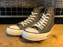 converse ALL STAR HI (チャコール) USED
