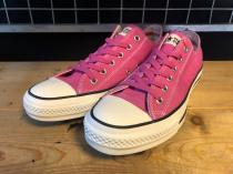 converse ALL STAR WASHOUT OX (ピンク) USED