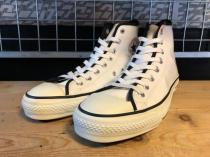 converse ALL STAR ENAMEL HI (ホワイト) USED