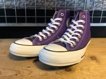 converse ALL STAR 100 COLORS HI (ロイヤルパープル) USED