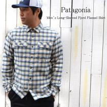 Patagonia / パタゴニア / Men's Long-Sleeved Fjord Flannel Shirt。