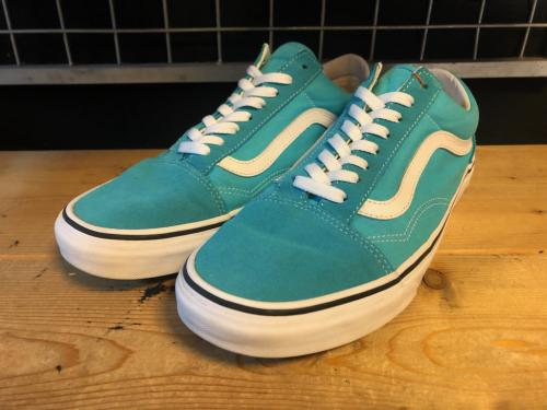 VANS OLD SKOOL (ブルー) USED写真