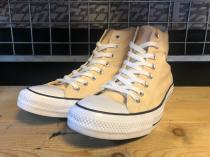 converse ALL STAR HI (ベージュ) USED