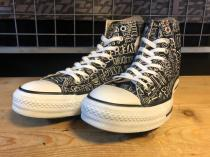 converse ALL STAR GRAFFITI HI (ブラック) USED