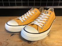 converse ALL STAR OX (ゴールド) USED