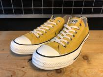 converse ALL STAR WASHEDCANVAS OX (ゴールド) USED