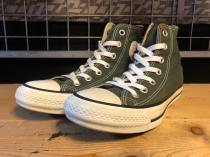 converse ALL STAR COLORS HI (クラシックグリーン) USED