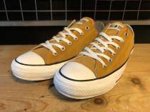 converse ALL STAR SUEDE OX (マスタード) USED