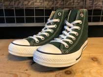 converse ALL STAR HI (フォレストグリーン) USED