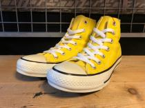 converse ALL STAR COLORS HI (レモンイエロー) USED