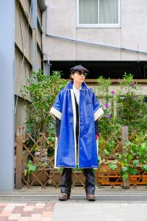 SYU. HOMME/FEMM  2020 Autumn Winter Collection -LOVE- ・DUSTER MOUTON PONCHO TO SDGs