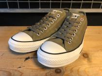 converse ALL STAR S-C OX (オリーブ) USED