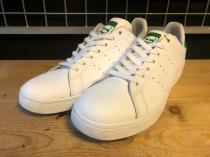 adidas SKATEBOARDING STAN SMITH VULC (ホワイト/グリーン) USED