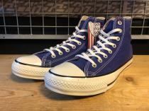 converse ALL STAR COLORS CLASSIC HI (コバルトブルー) USED
