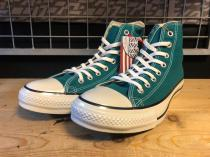 converse ALL STAR COLORS CLASSIC HI (ターコイズ) USED