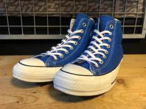converse ALL STAR 100 COLORS HI (ブルー) USED
