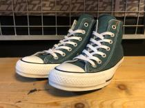 converse ALL STAR 100 COLORS HI (ダークティール) USED
