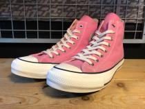 converse ADDICT CHUCK TAYLOR CANVAS HI (ピンク) USED