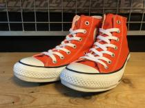 converse ALL STAR SP COLORS HI (オレンジ) USED