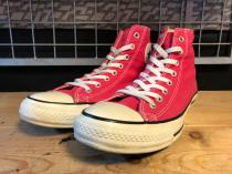 converse ALL STAR COLORS HI (ローズピンク) USED