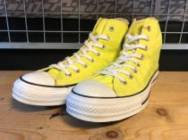 converse ALL STAR HI (イエロー) USED