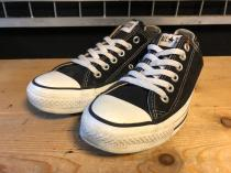 converse ALL STAR OX (ブラック) USED