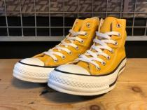 converse ALL STAR HI (オレンジイエロー) USED