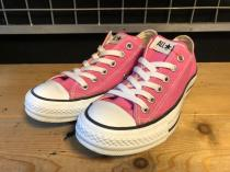 converse ALL STAR OX (ピンク) USED