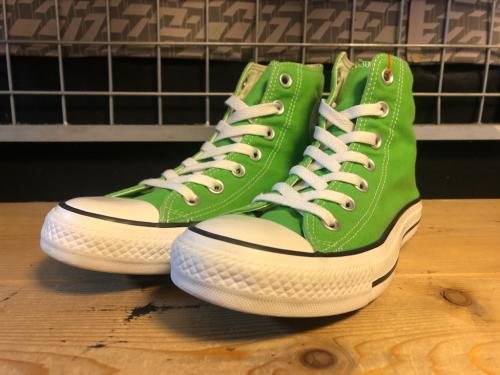 converse ALL STAR HI (グリーン) USED写真