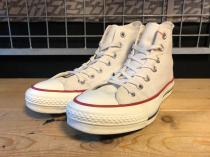 converse ALL STAR J HI (ナチュラルホワイト) USED