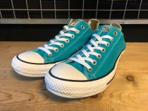 converse ALL STAR OX (ターコイズ) USED
