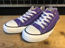converse ALL STAR OX (パープル) 新品