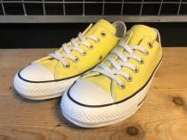 converse ALL STAR 100 COLORS OX (レモン) USED