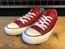converse ALL STAR 100 COLORS OX (レッド) USED