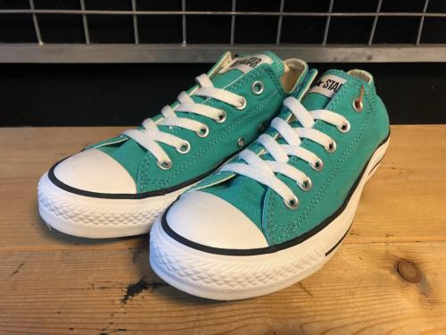 converse ALL STAR OX (グリーン) USED写真