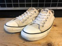 converse ALL STAR OX (ライトグレー) USED