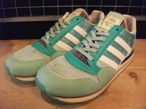 adidas ZX500 (ライムグリーン) USED写真