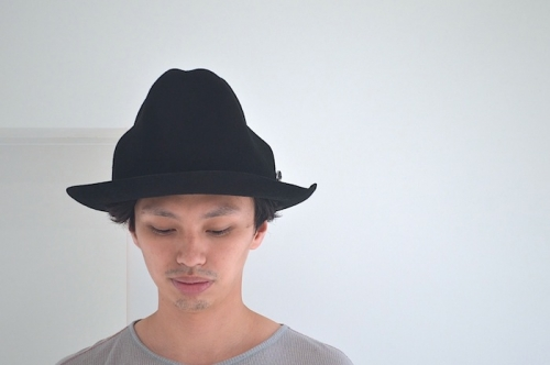 wizzard MOUNTAIN HAT(BLACK)¥19,950写真