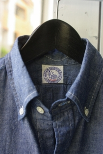 KAPTAIN SUNSHINE 60's B.D CHAMBRAY SHIRTS