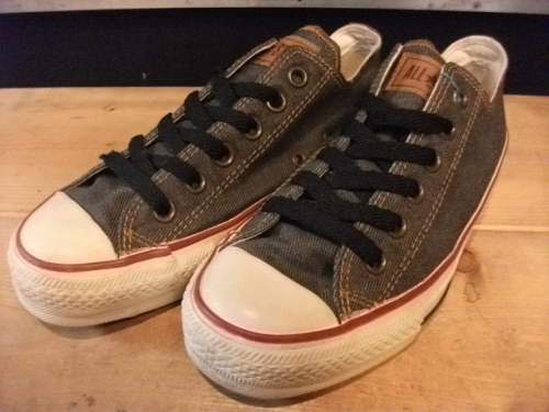 converse ALL STAR DENIM OX (デニム) USED写真