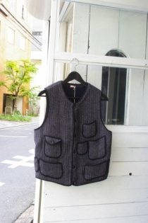 KAPTAIN SUNSHINE BEACH PILE VEST