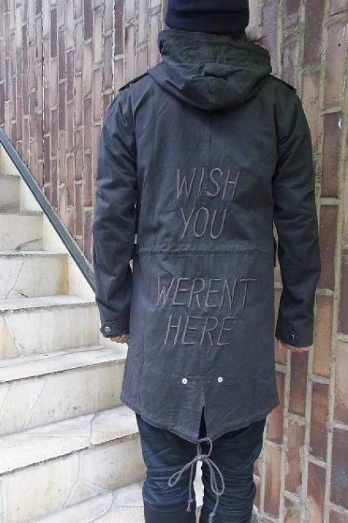 UNIF WISH YOU WEREN'T TRENCH写真