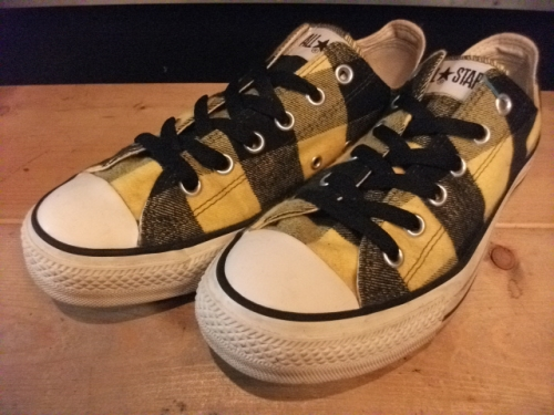 converse ALL STAR BF OX (イエロー) USED写真