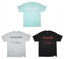 NEW SHIT / DIAMOND SUPPLY CO. / DIAMOND EVERYTHING TEE / MILITARY SCOUT BELT