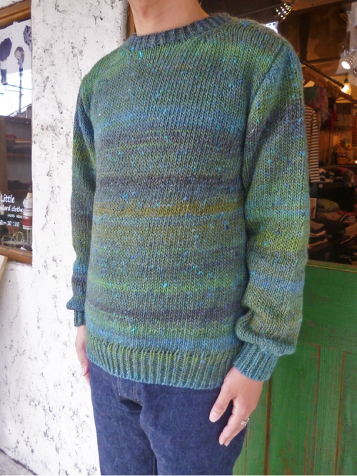 Soglia oxford sweater 写真