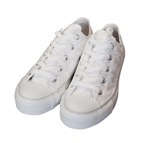 ELEY KISHIMOTO/イーリーキシモト 【LOW CUT FLASH TRAINERS】【WHITE】写真