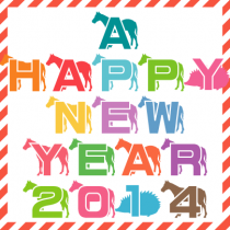 A HAPPY NEW YEAR 2014