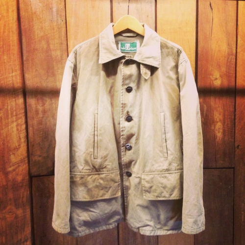1950's french vintage hunting jacket写真