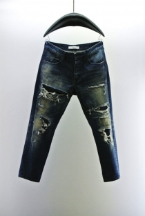 VADEL tight easy denim pants